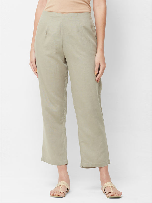 Mint Parallel Pants