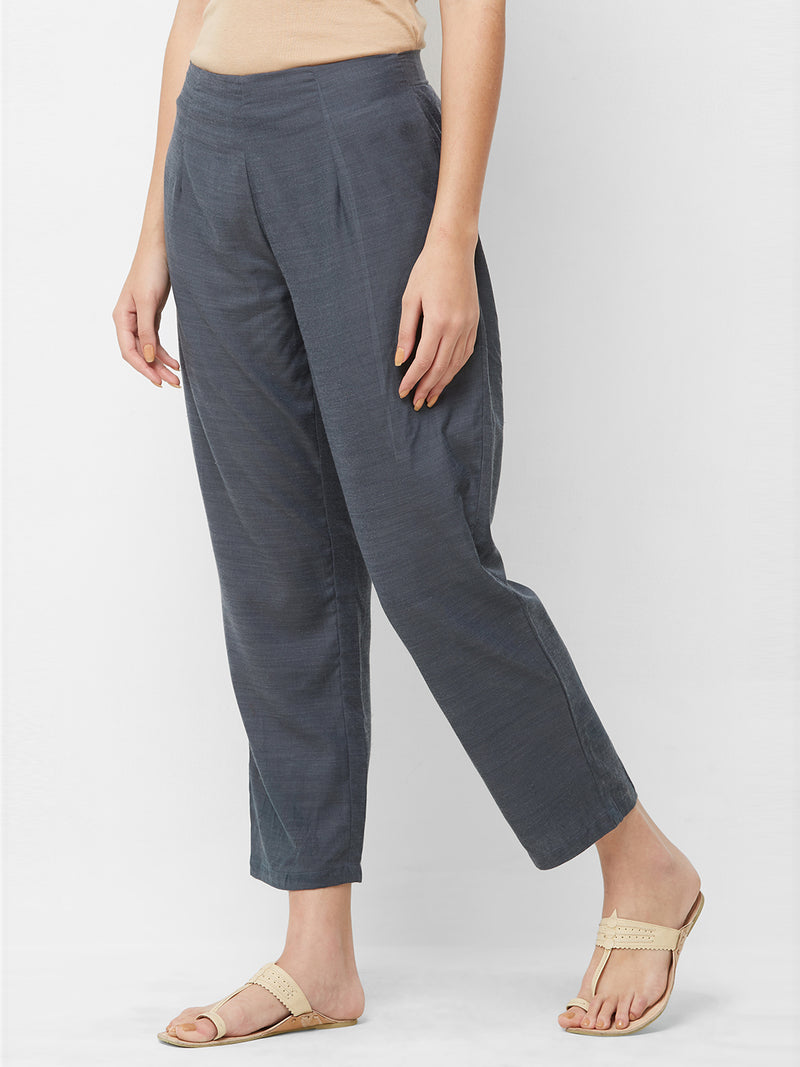 Dark Grey Parallel Pants