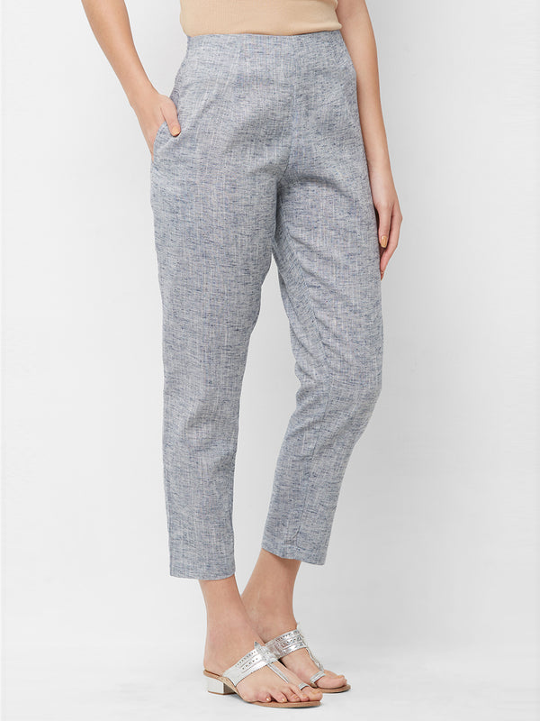 Grey Narrow Pants