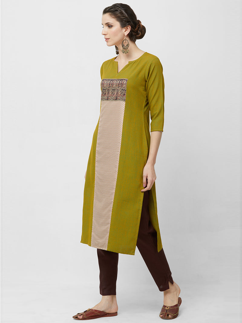 Straight Printed Kurta