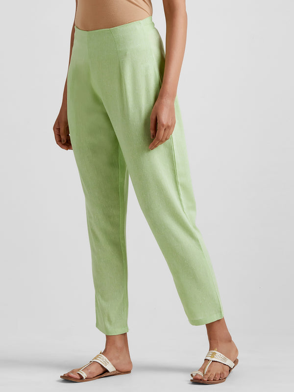 Light Green Narrow Pants