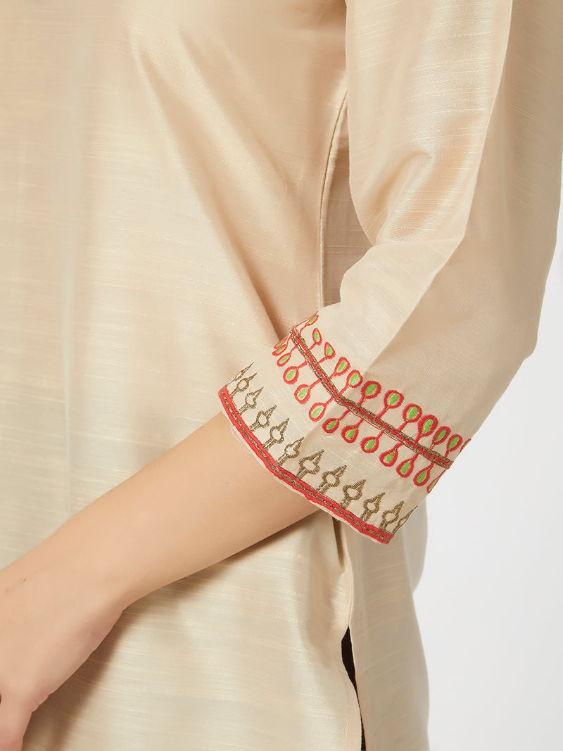 Light Beige Kurta