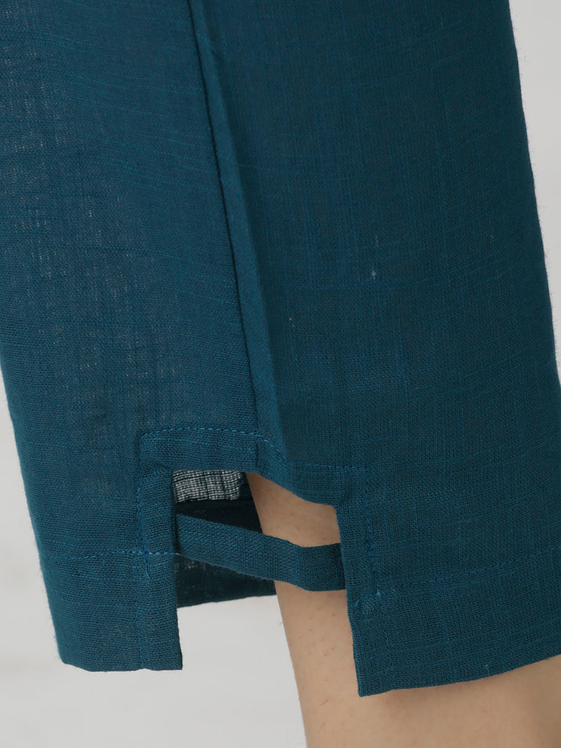 Narrow Blue Trouser