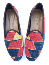 Load image into Gallery viewer, Men's Kilim Slippers size 44 (US size 11)