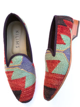Load image into Gallery viewer, Men's Kilim Slippers size 42 (US size 9)