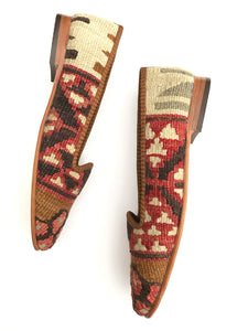 Women's Kilim Slippers size 38 (US size 8)