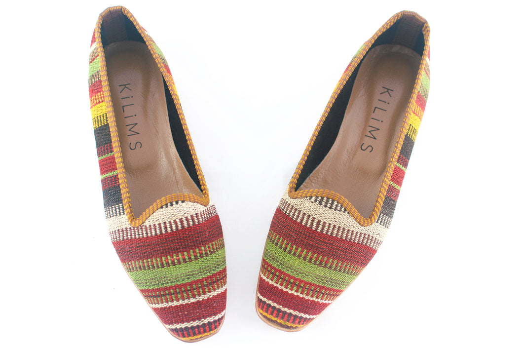 Women's Kilim Slippers size 40 (US size 10)