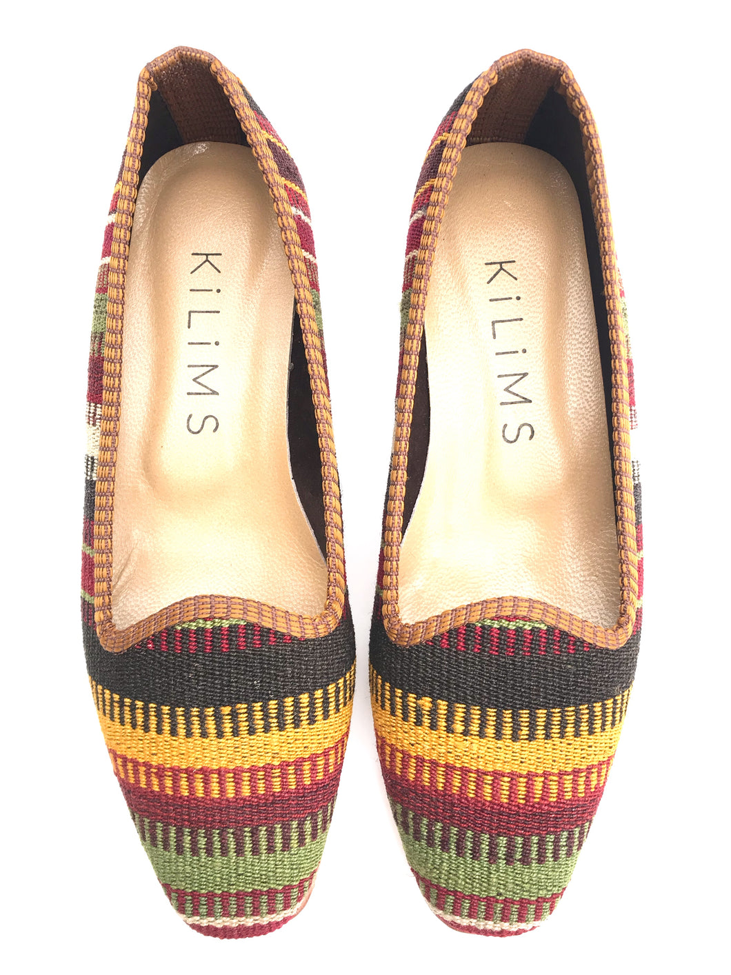 Women's Kilim Slippers size 37 (US size 7)