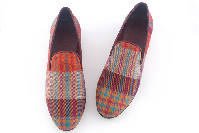 men's tartan slippers