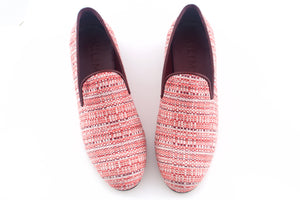 men's red slippers