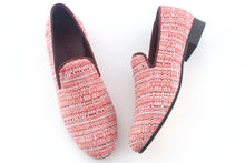 Load image into Gallery viewer, men's pink slippers