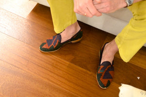 kilim loafers for men