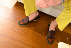 men's kilim loafers