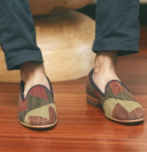Men's Kilim Slippers size 46 (US size 13)
