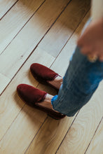 Load image into Gallery viewer, Women's Velvet Tapestry Slippers