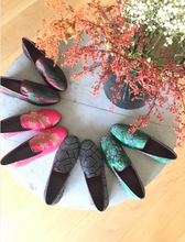 Load image into Gallery viewer, kilims by the makers brocade loafers