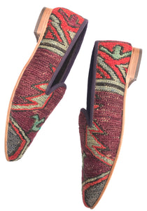 Women's Kilim Slippers size 42 (US size 12)