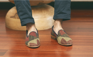men's kilim shoes