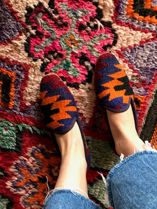 Women's Kilim Slippers size 39 (US size 9)