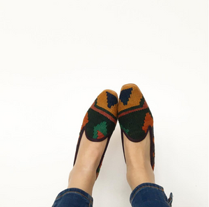 women's kilim shoes
