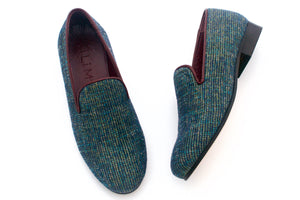 Women's Peacock Chenille Tapestry Slippers