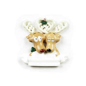Reindeer Couple Christmas Decoration