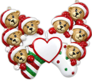 Clinging Bear (8) Christmas Decoration