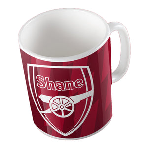 Arsenal Themed Mug - Personalise It