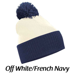 Snowstar® two-tone beanie, Personalised Gift