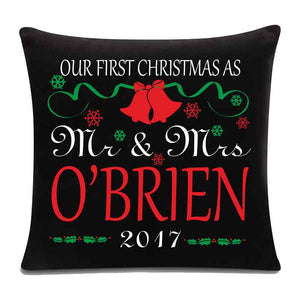 1st Christmas Cushion