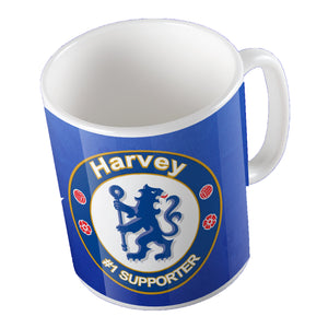 Chelsea Themed Mug - Personalise It