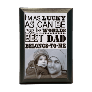 Father's Day Photo Plaque