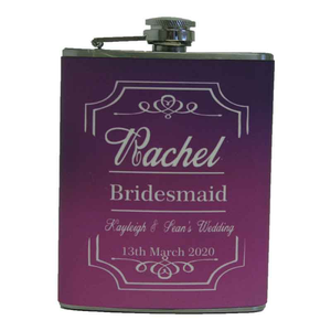Hip Flask For Her Personalised Gift