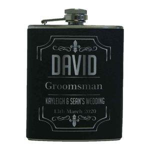 Hip Flask For Him Personalised Gift