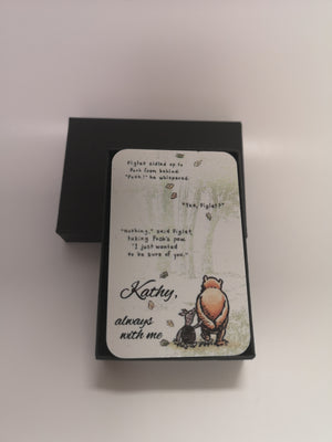 Personalised Wallet Card