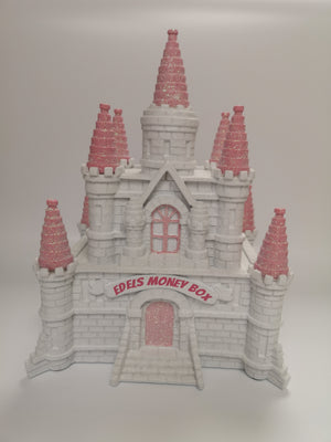 Personalised Castle Money Box