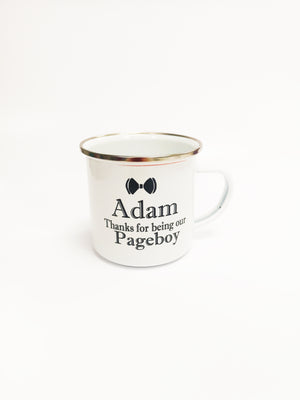 Enamel Pageboy Mug - Personalise It