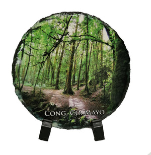 Round Photo slate Personalised Gift