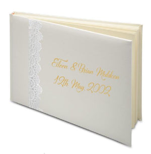 Wedding Guest Books - Personalise It