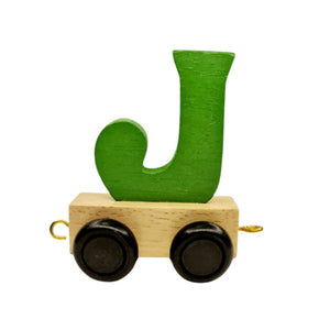 Colour Wooden Train and Track, Personalised Gift