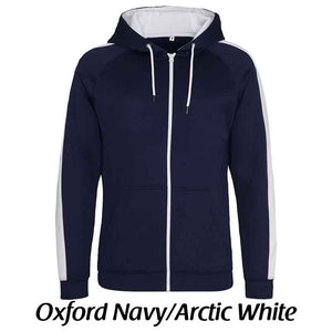 Sporty Zipped Hoodie, Personalised Gift