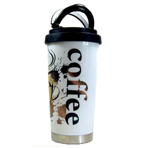 Thermos Coffee Mug With Handles