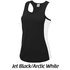 Women's cool contrast vest