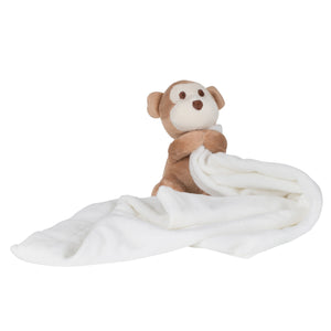 Personalised Monkey Comforter, Personalised Gift