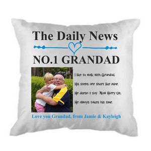 No1 Grandad Cushion