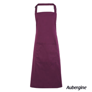 Bib Apron With Pocket