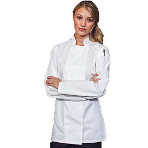 Women's Long sleeve Chefs Jacket
