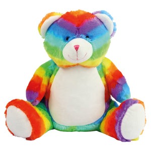 Rainbow Bear, Personalised Gift
