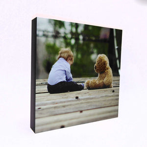 Personalised Photo Block - Personalise It