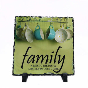 Square Photo slate Personalised Gift